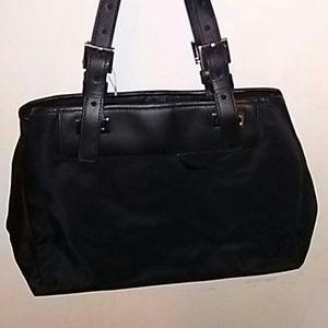 Agnes B. Bags - Agnès b. Voyage Nylon Black Bag
